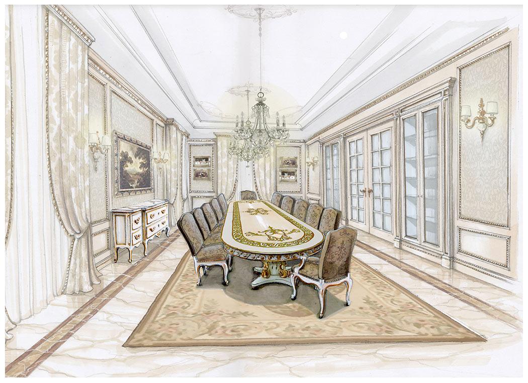 Sala da pranzo classica salda arredamenti - Sala pranzo classica ...